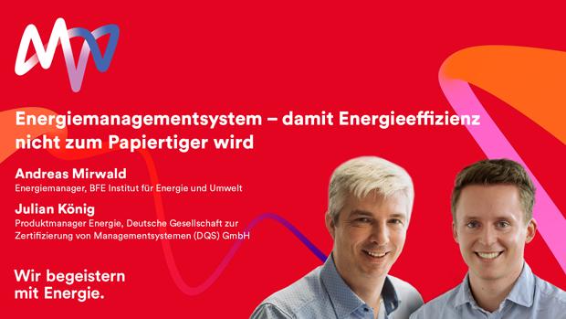 Webinar Energiemanagementsystem