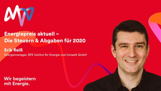 Webinar Steuern & Abgaben für 2020