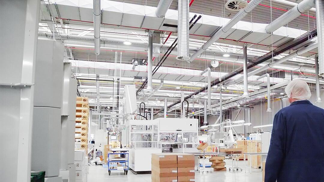 Linhardt Produktionshalle