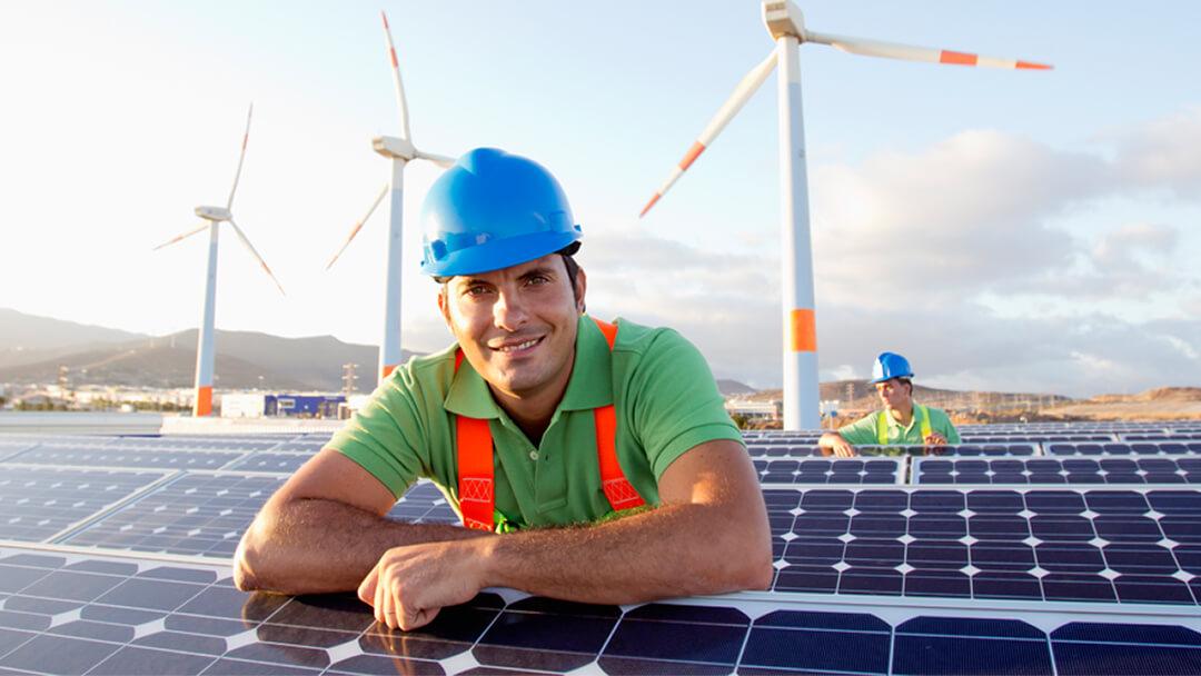 Mitarbeiter Photovoltaik