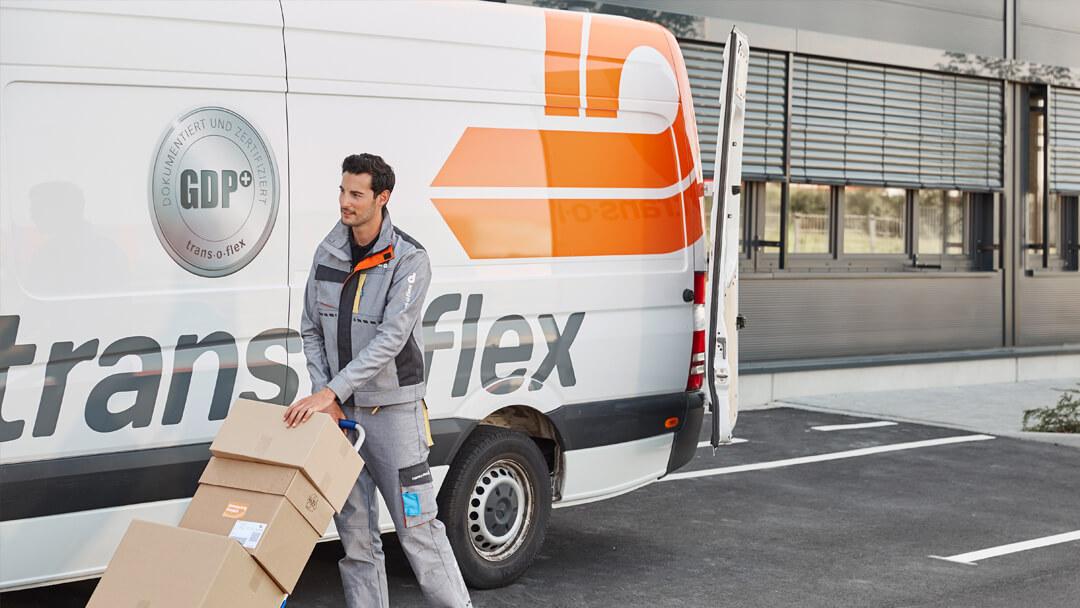 Lieferung durch Trans-o-flex