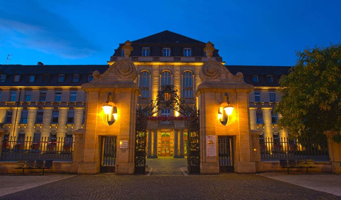 Pariser Tor des Universitätsklinikums Mannheim