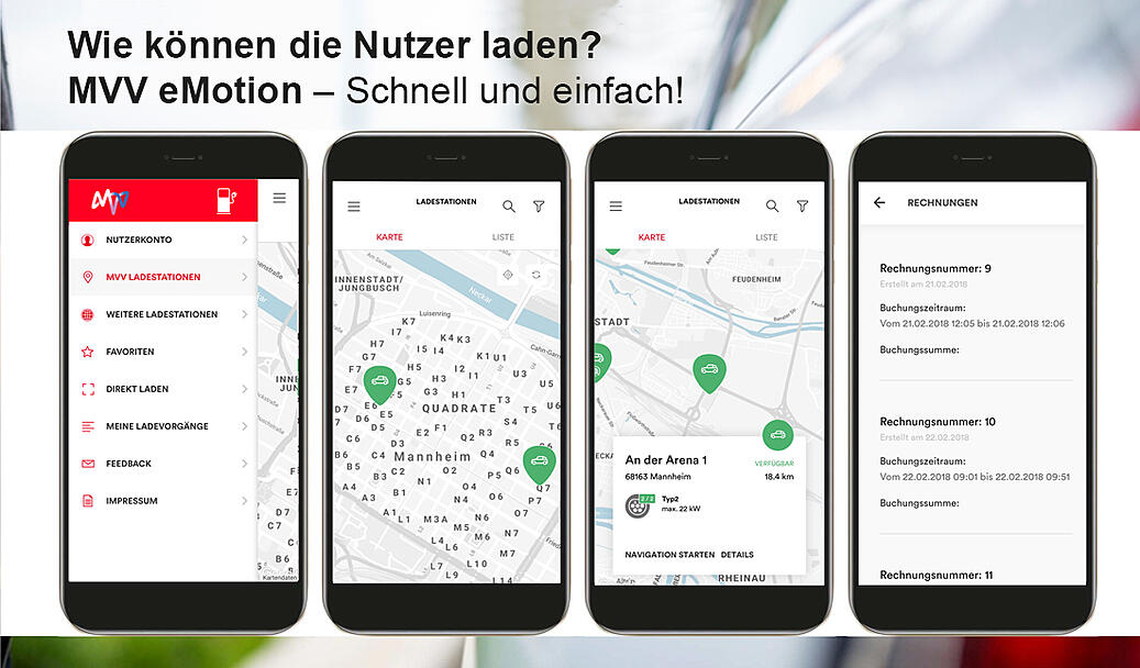 MVV eMotion App