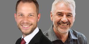 Alexander Skrobuszynski und Thomas Parth