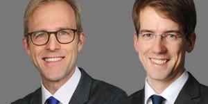 Jörg Schlehe und Jan Mehlberg