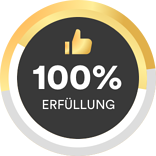 100 Prozent Zielerfüllung