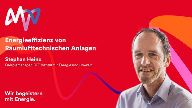 Webinaraufzeichnung: Energieeffizienz von Raumlufttechnischen Anlagen