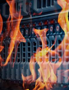 Rechenzentrum: Brandschutz auf kleinstem Raum
